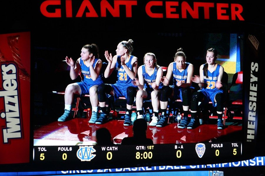 The Bellwood-Antis Lady Blue Devils begin defense of their PIAA 2A title tonight against Bishop McCort.