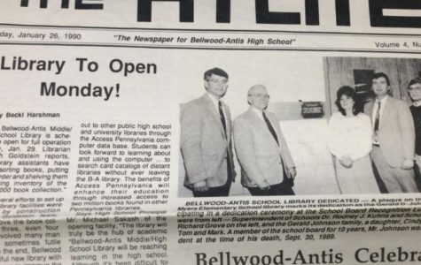 BA HISTORY 101: high school opens new library
