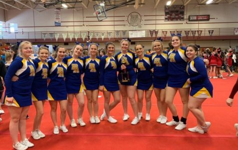 Cheerleaders take Second in State College