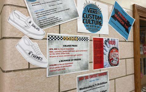 B-A art students enter Vans shoe design contest