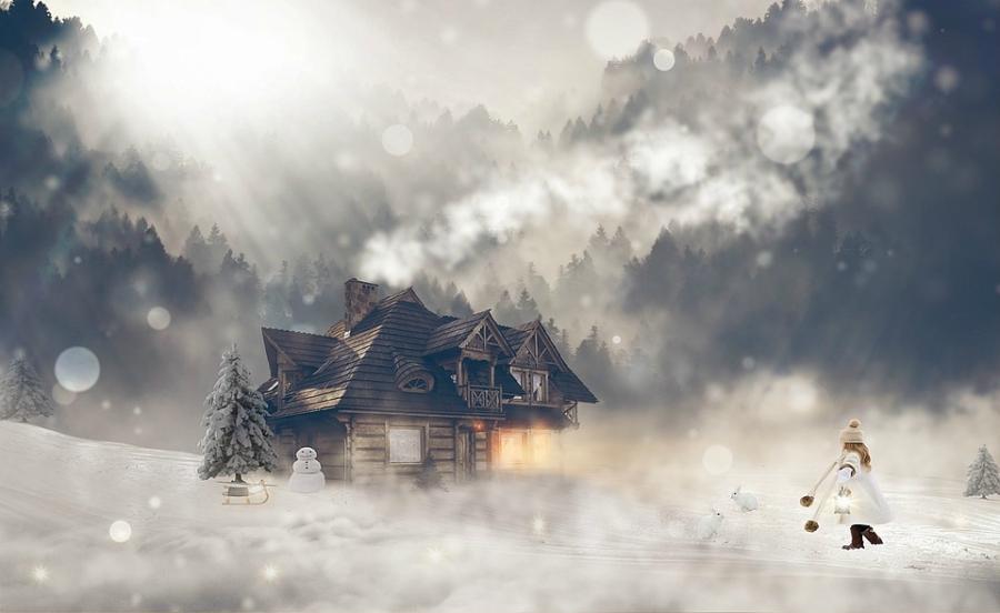 Wonderful Winter fairy tale