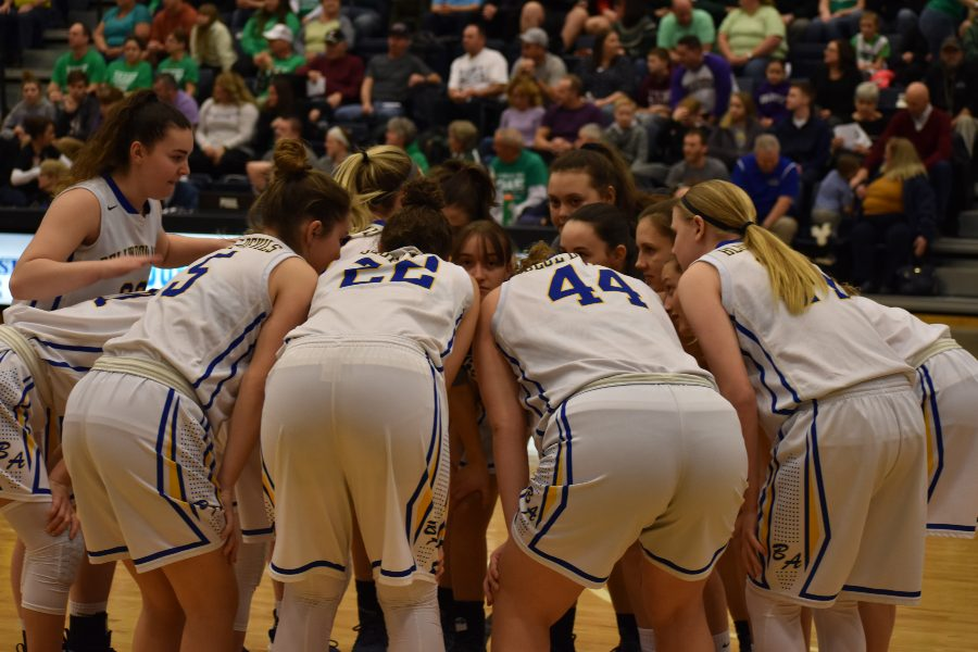 The+Lady+Blue+Devils+took+a+win+last+night+against+Juniata+Valley.