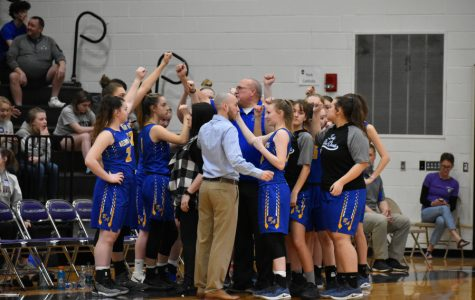 PHOTO STORY: Lady Blue Devil Basketball vs. York Catholic