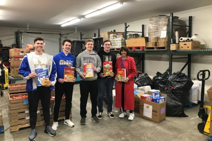 The FCA capped its cereal drive by delivering 650 boxes of cereal to the St. Vincent DePaul Food Pantry in Altoona earlier this week.