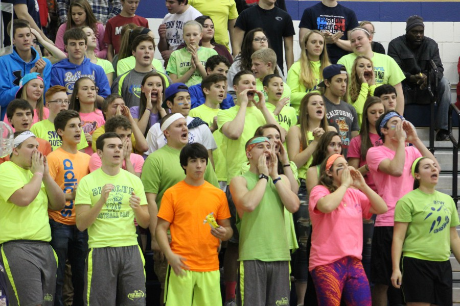 There was a time when Blue Devil Nation traveled with the B-A basketball teams wherever they went.