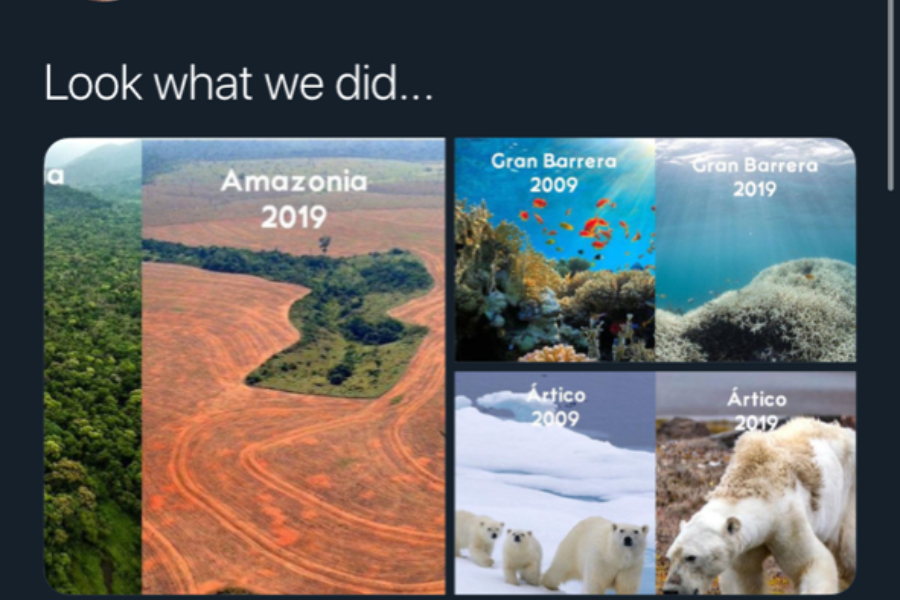 Climate change is something we can control.