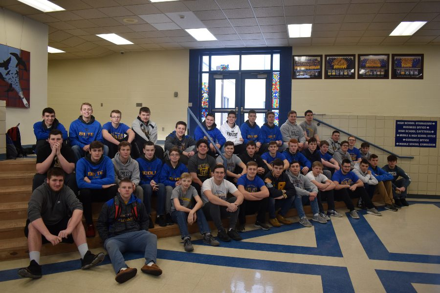 The Bellwood-Antis football team landed 51 of its 54 members on  PFN acasdemic all-star teams.
