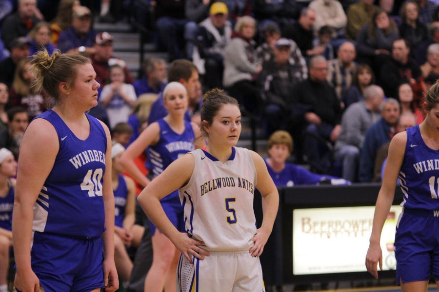 Macy Decker is making an impact on the girls basketball team.