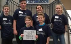 BAMS Mathcounts Team Places Second