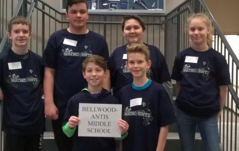 BAMS Mathcounts Team Places Second
