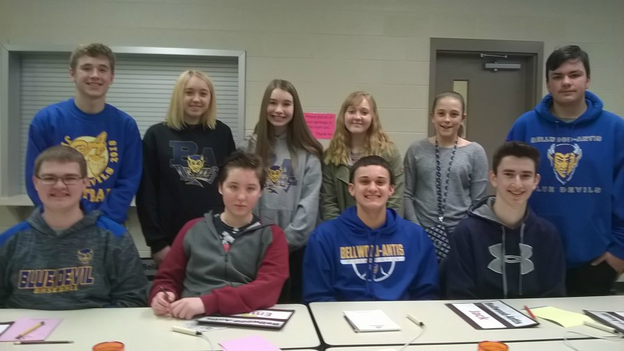 The Bellwood-Antis Junior High Scholastic Scrimmage team still has a shot at making the IU 8 championship round.