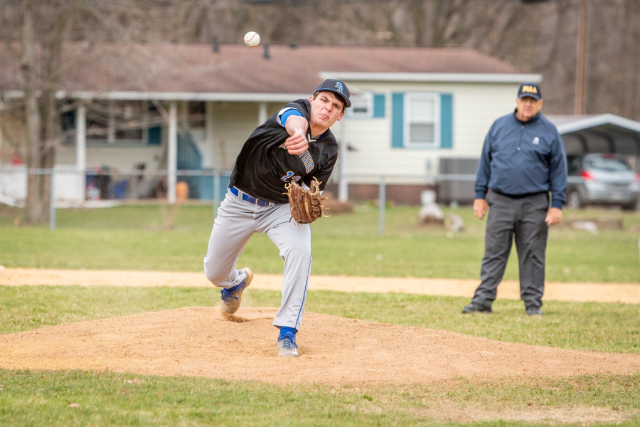 Caden Nagle logged the pitching win for Belwood-Antis against Glendale.