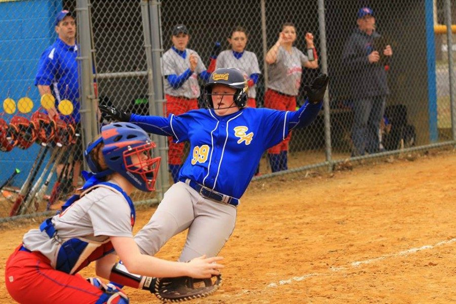 The Lady Blue Devils took a hard loss against Mount Union on Tuesday.