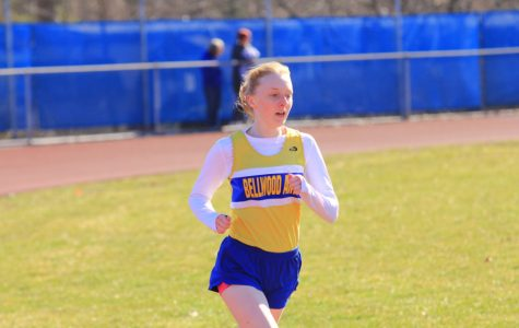 Jenna Bartlett placed in two events at the Igloo Invitational.
