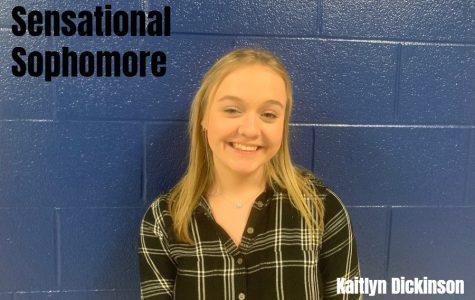 Sensational Sophomore: Kaitlyn Dickinson