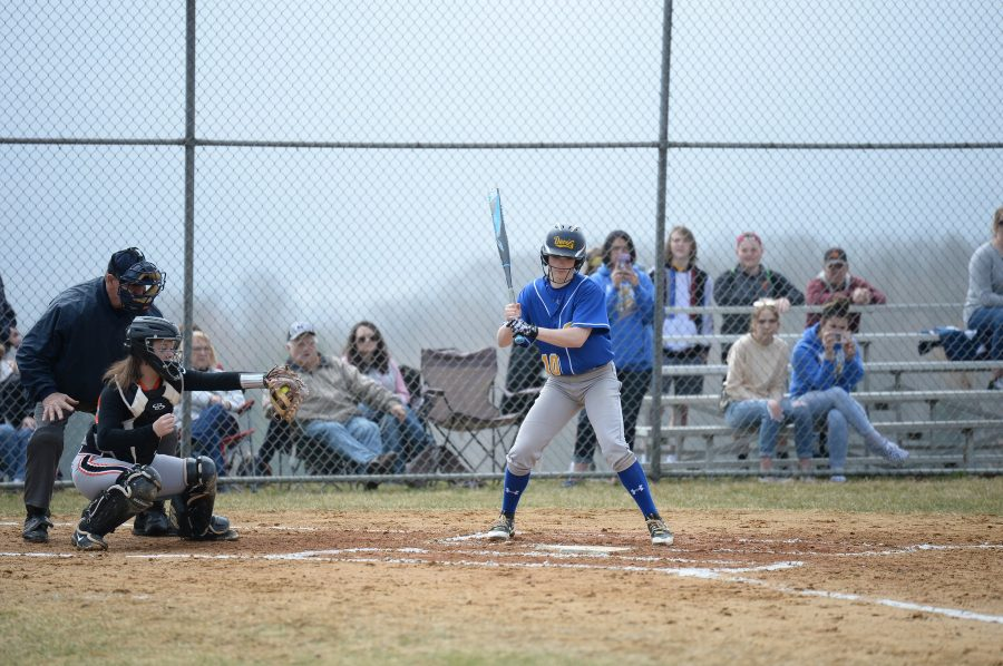 Krystina Taylor had three hits and three RBI to lead BA to a win over Mount Union.