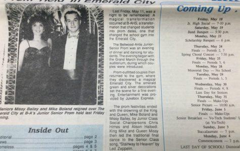 "1990 Prom ""Emerald City"""