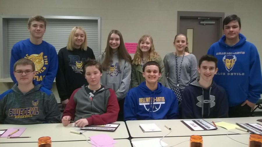 The Jr. High Scholastic Scrimmage Team had a successful year competing against area schools.