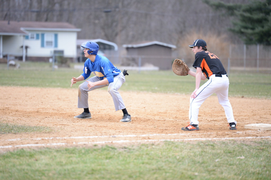 Travis Leusnmann was one of two Devil batters with two RBI against Williamsburg.