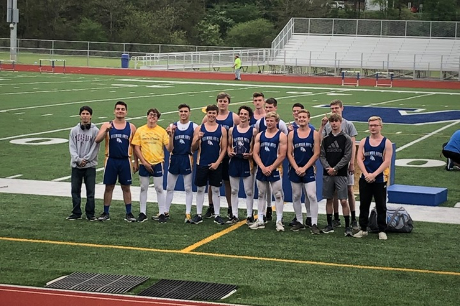 The Blue Devil track team won its first West Central Coaches Meet title since 2013.
