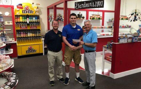 Caden Nagle wins NFF scholarship