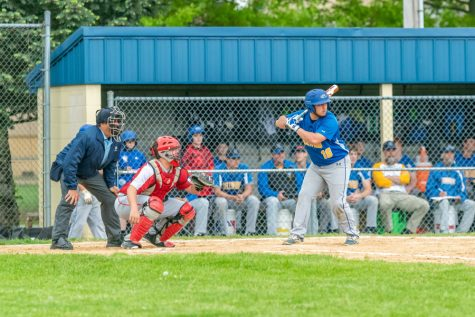 Baseball team bows out in semis