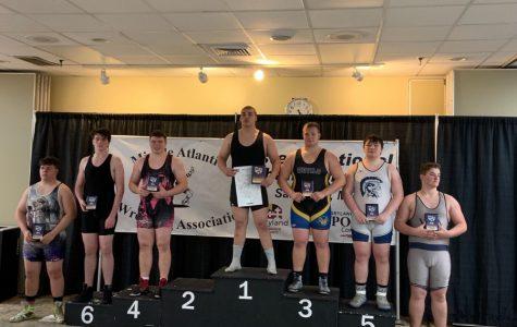 Pellegrine places third at regional wrestling event