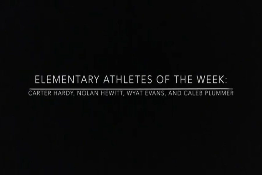 Elementary School Athletes of the Week