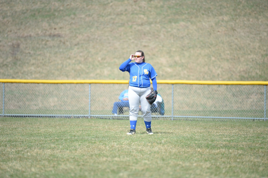 Jes Heaton and the softball team are hoping to make some noise in the District 6 2A field.
