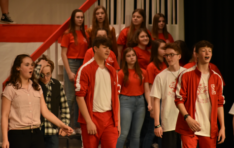 Middle Schoolers Perform High School Musical
