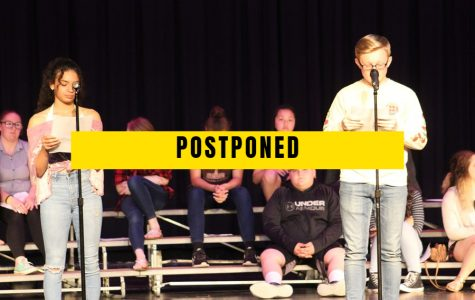 Poetry Slam postponed