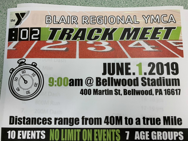 Bellwood to host community track event