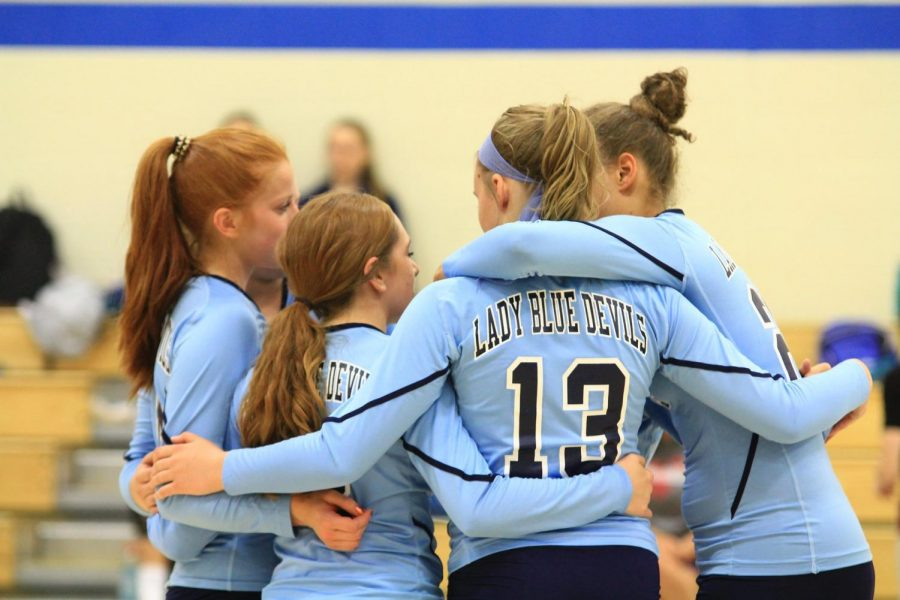 The+volleyball+team+plays+three+matches+in+a+busy+sports+week+at+Bellwood-Antis.