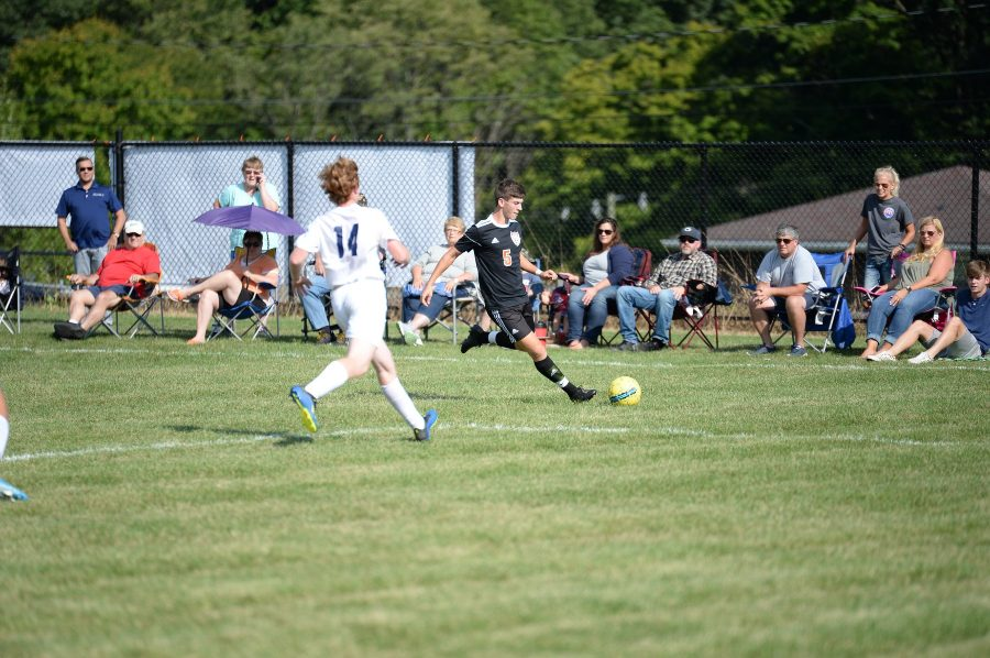 Reigning Mountain League MVP Corey Johnston  continued to score goals for the soccer team, netting one against Bellefonte.