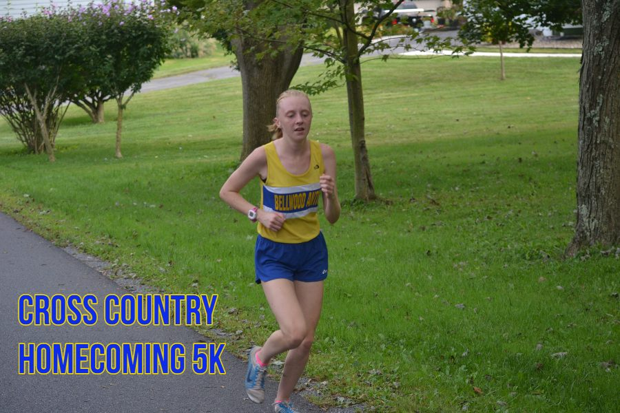 The cross country team is hosting its second 5K fundraiser on Saturday.