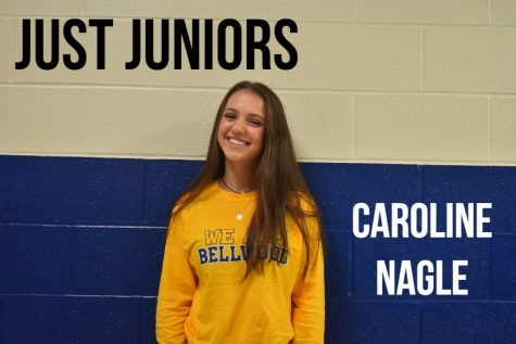 Caroline Nagle is an active member of the junior class.