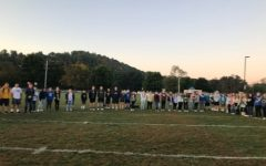 A record 111 people showed up Wednesday for See You at the Pole.