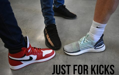 Jordans, Yeezy's, and Addidas are three popular shoes in the halls of Bellwood-Antis High School.
