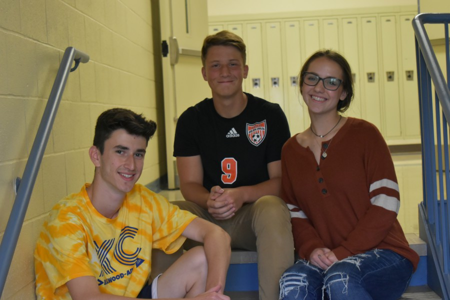 2019-2020 Chess Club officers: Caden Poe-Secretary Caroline Nagle-Vice President Landon Bungo-President