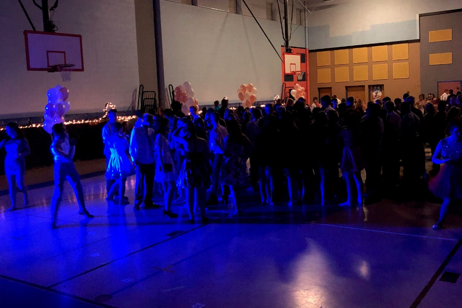 More than 200 students attended last year's homecoming dance, and a large crowd is expected again for the event this Saturday.