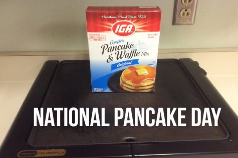 Have a short stack on National Pancake Day.