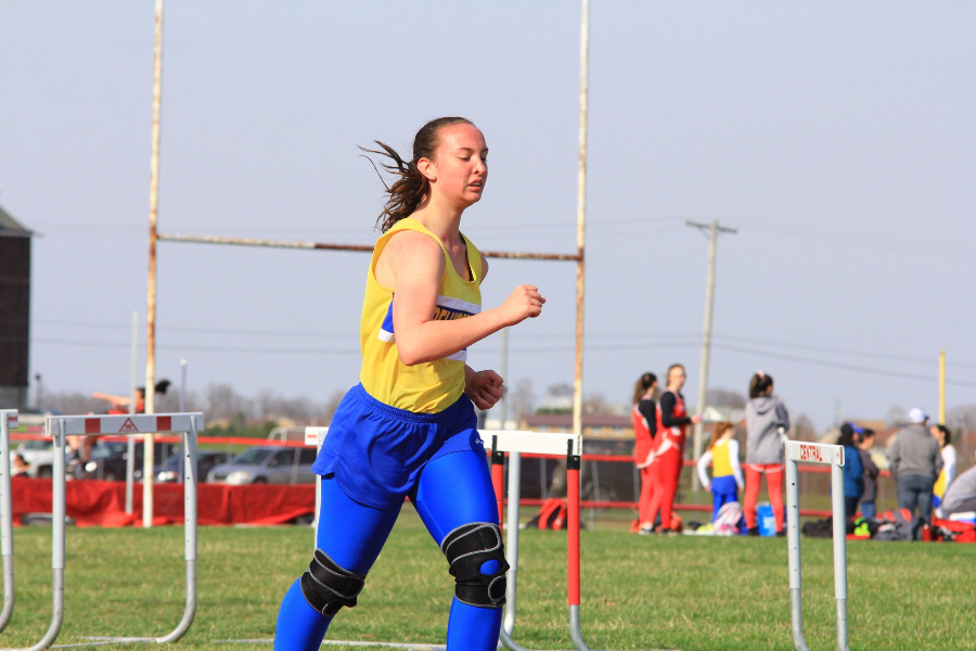 Ashley Yohn has won six meets for the cross country team this season.