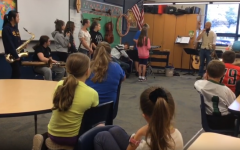 B-A band visits Myers to find musicians of the future