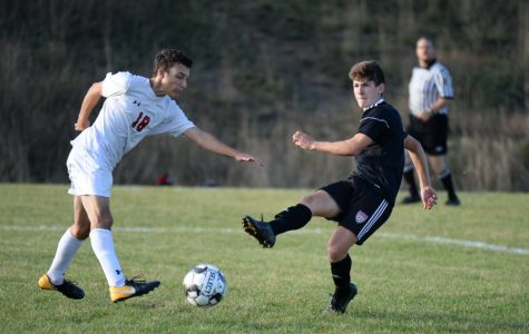 Corey Johnston tied a Bellwood-Alumnus at the top of the co-op soccer team's all-time scoring list.