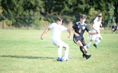Johnston nears scoring record in soccer victory