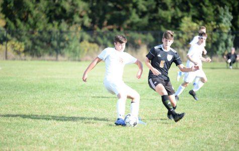 Johnston nears scoring record in soccer victory