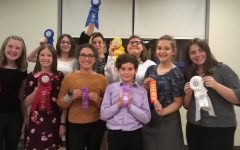Junior high speech team hosts first meet