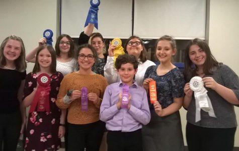 Junior high speech team hosts first meet