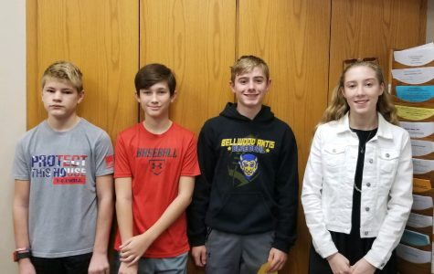 Four students named MS Students of the Week