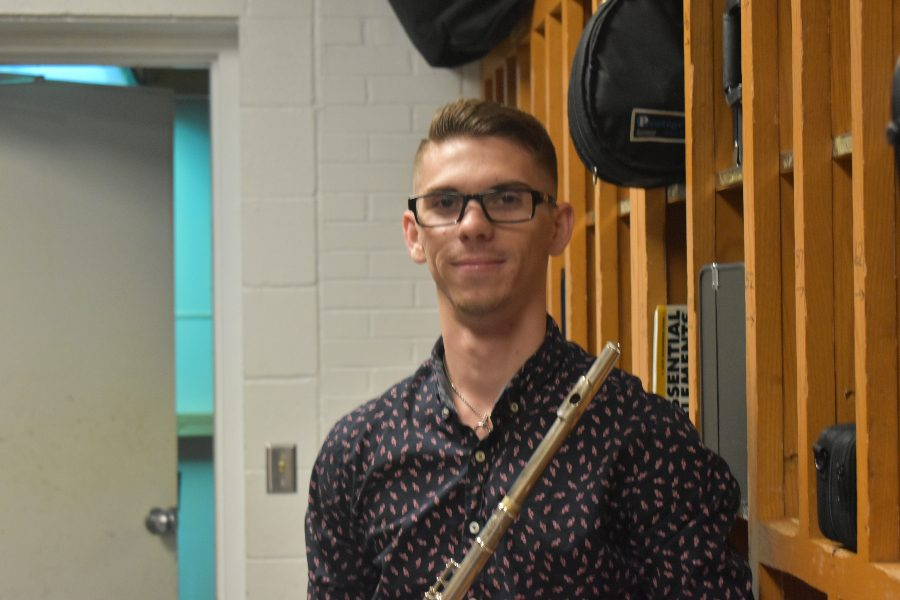 Mr. Korljic has been student teaching with Mr. Sachse since August.